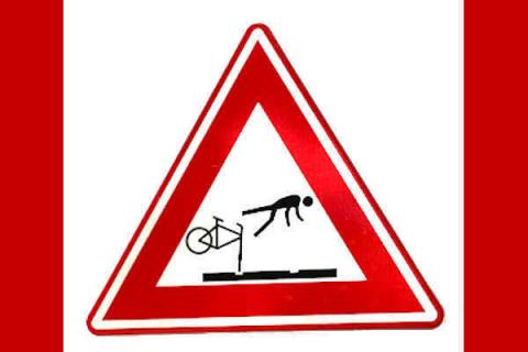 Belgia: Co czwarty wypadek rowerowy w Gandawie spowodowany przez tory tramwajowe!