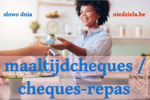 Słowo dnia: maaltijdcheques / cheques-repas