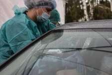 Polska: Auto odbiło się od skarpy i dachowało. Kierująca wyjeżdżała ze szczepienia